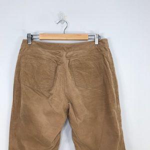 Tahari Pants & Jumpsuits - Tahari   Tan Corduroy Stretch Emma Pant SZ 12